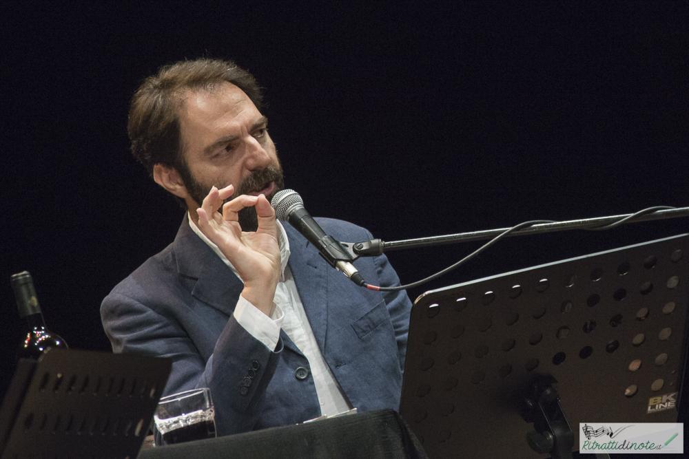 Marcorè e De Angelis -Teatro delle Palme ph Luigi Maffettone