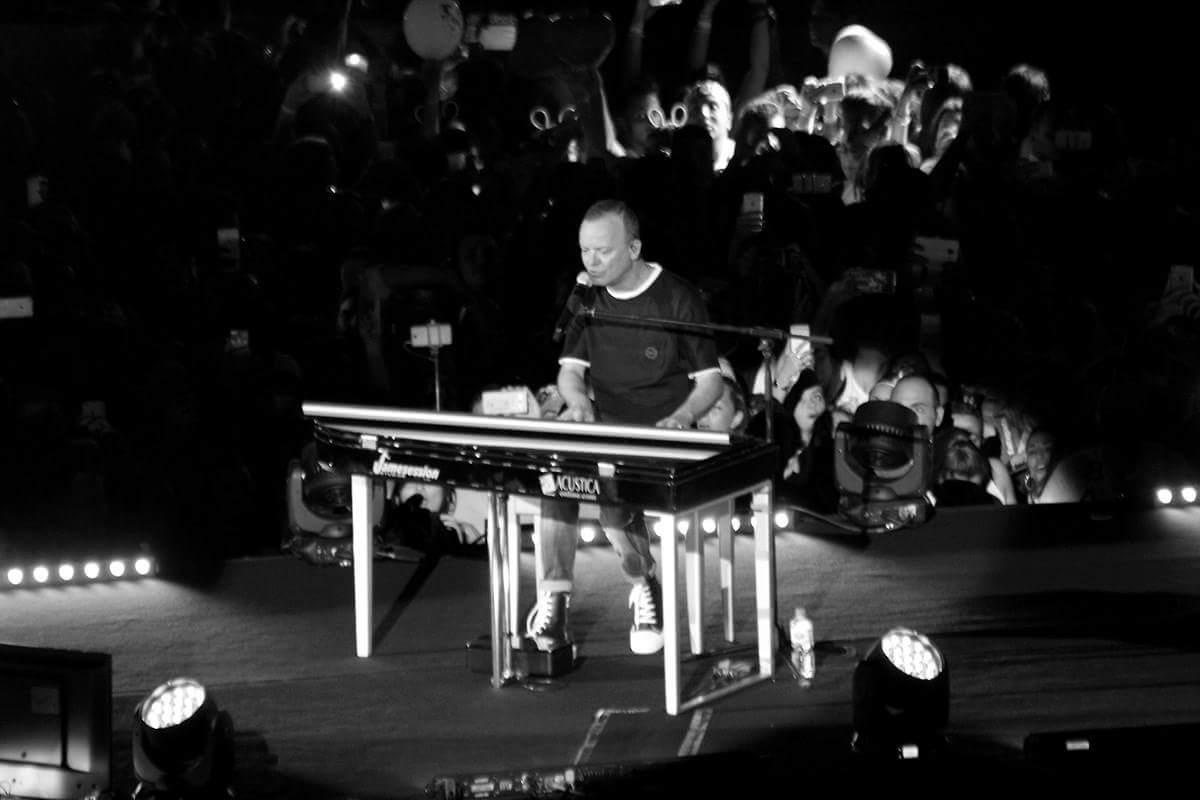 Gigi D'Alessio live - Stadio San Paolo ph Arturo Favella