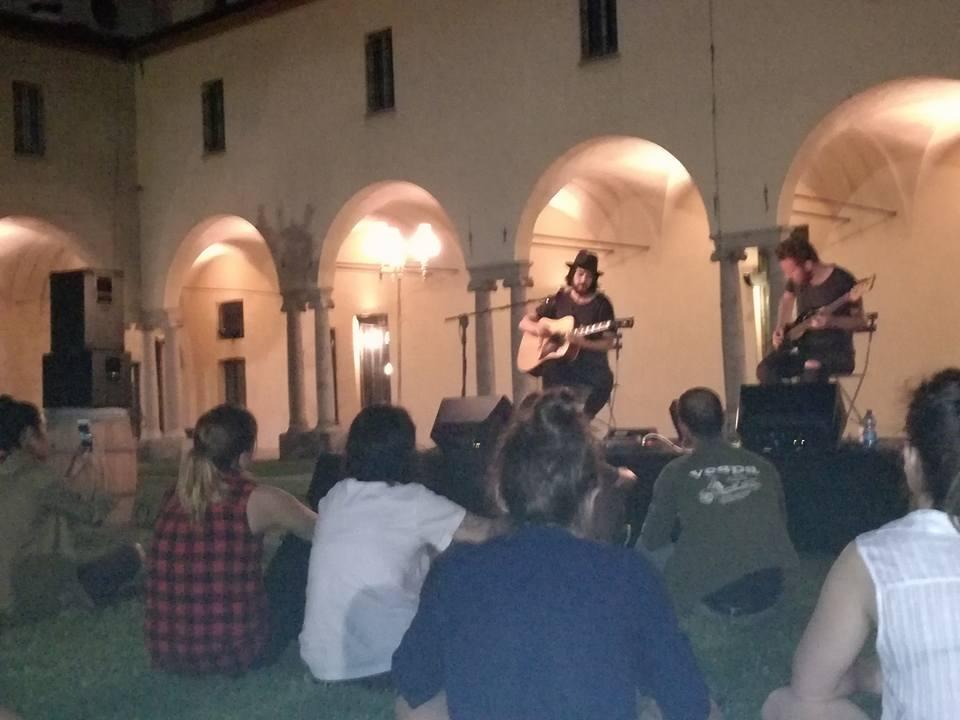 Daniele Celona live @ Chiostro Bistrot -Milano