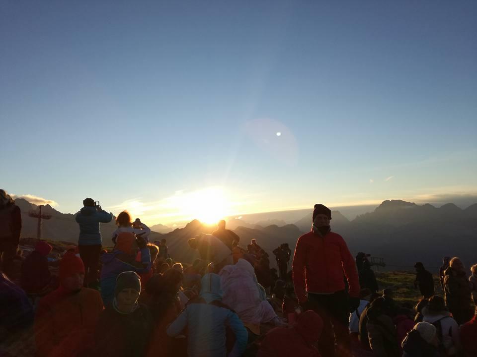 """L'alba de """"I Suoni delle Dolomiti"""" - Trentino"""