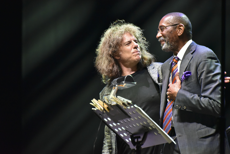 Pat Metheny e Ron Carter @ Umbria Jazz Festival ph Roberta Gioberti