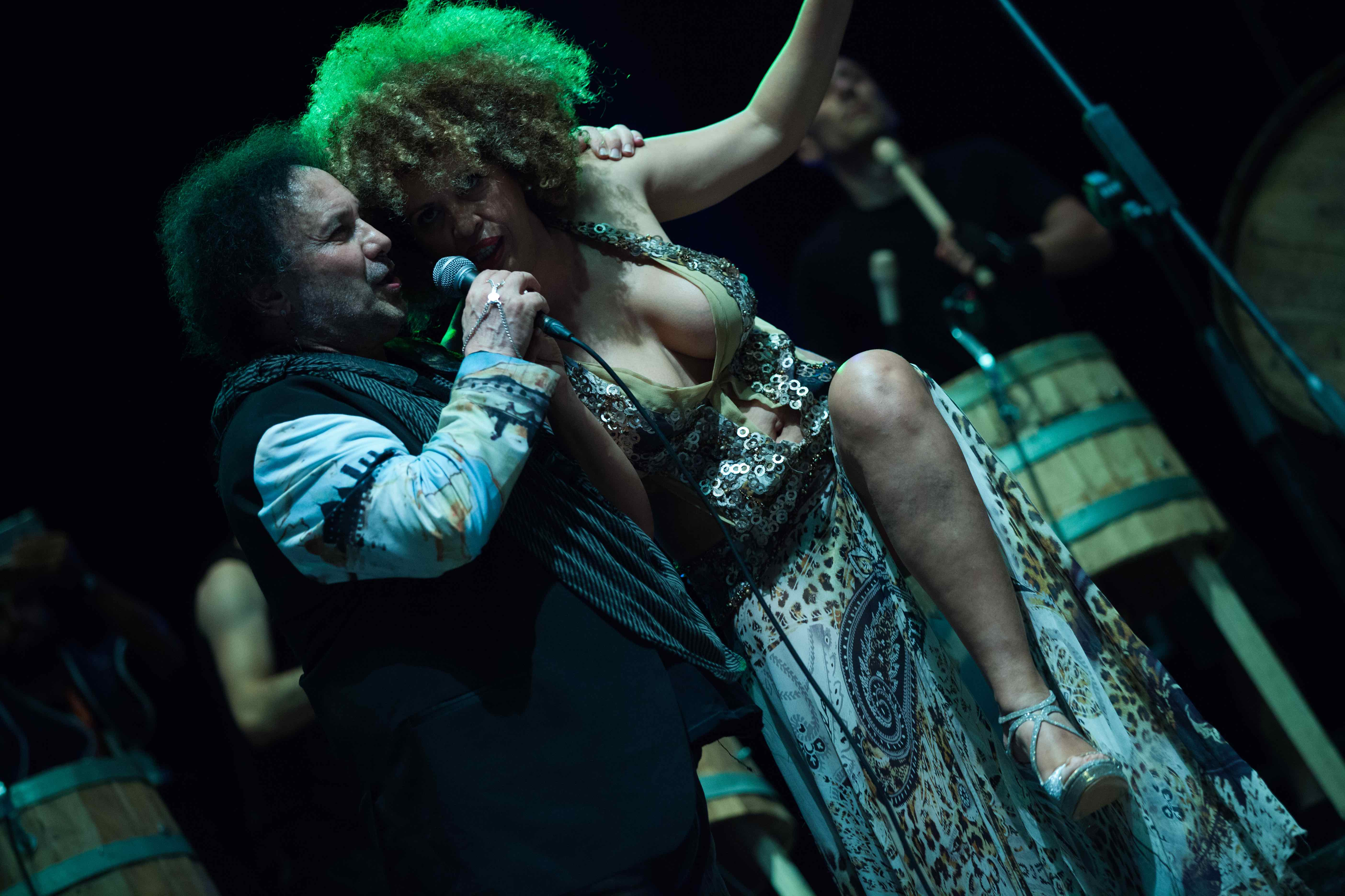 Campania Sound Experience - Enzo Avitabile e M'Barka Ben Taleb ph Anna Vilardi