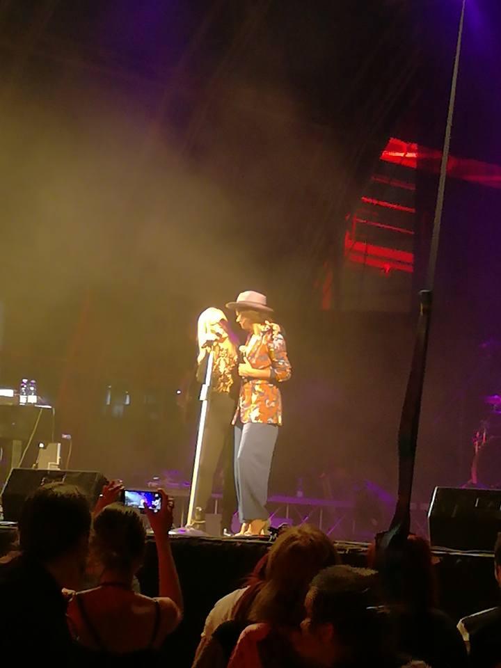 Patty Pravo e Rachele Bastreghi live @ Carroponte