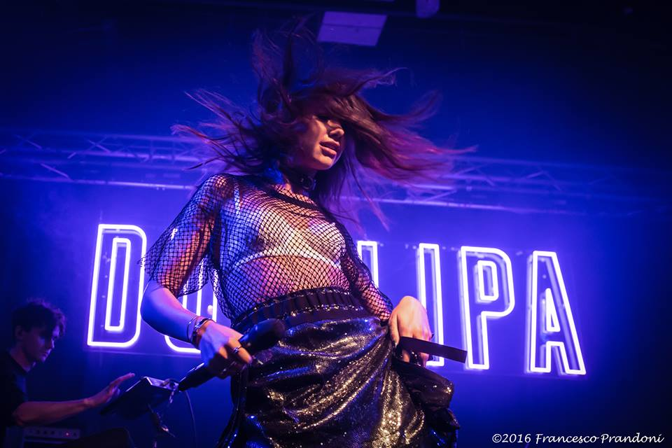 Dua Lipa @ Tunnel Club - Milano ph Francesco Prandoni