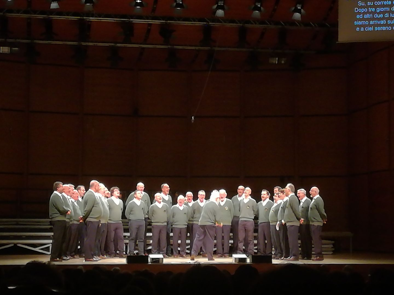 Coro A.N.A live a Milano