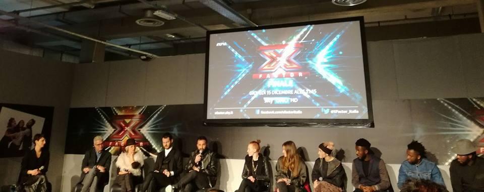Conferenza stampa X Factor - La finale