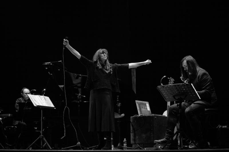 Alice live @ Teatro Tasso - Sorrento ph Anna Vilardi