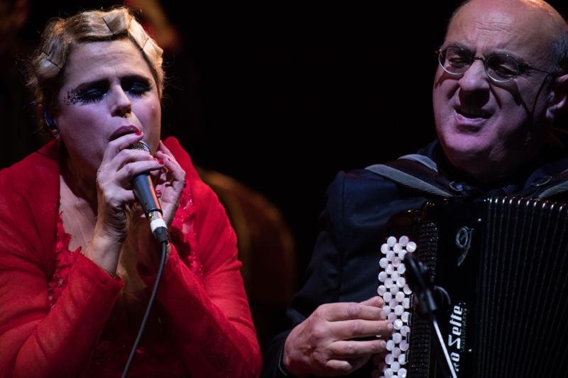 """Tosca & Friends in """"Appunti musica dal mondo"""" - Roma ph Anna Vilardi"""