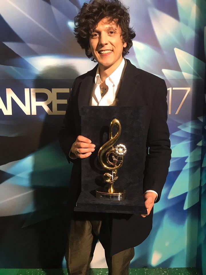 Ermal Meta - vincitore del premio Cover - Sanremo 2017