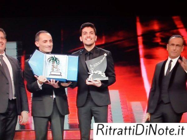 """Lele Esposito vincitore """"Nuove proposte"""" - Sanremo 2017 @Rai Uno"""