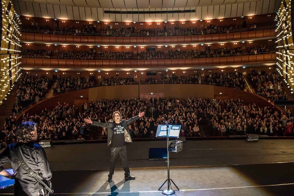 Samuele Bersani live @ Teatro Arcimboldi - Milano ph Francesco Prandoni