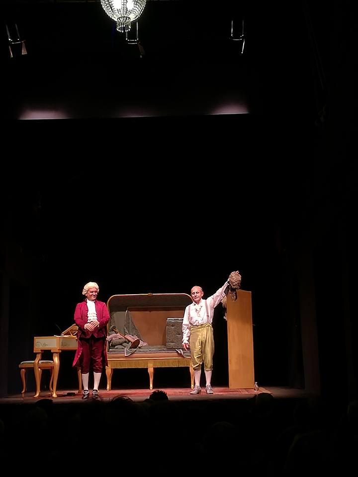 Giuseppe Cederna e Sandro D'Onofrio @ Teatro Parenti - Milano