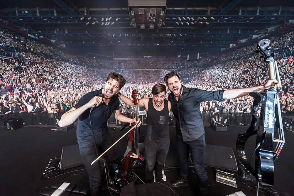 2 Cellos live @ Mediolanum Forum