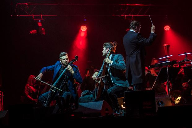 2 Cellos live @ Mediolanum Forum ph Francesco Prandoni