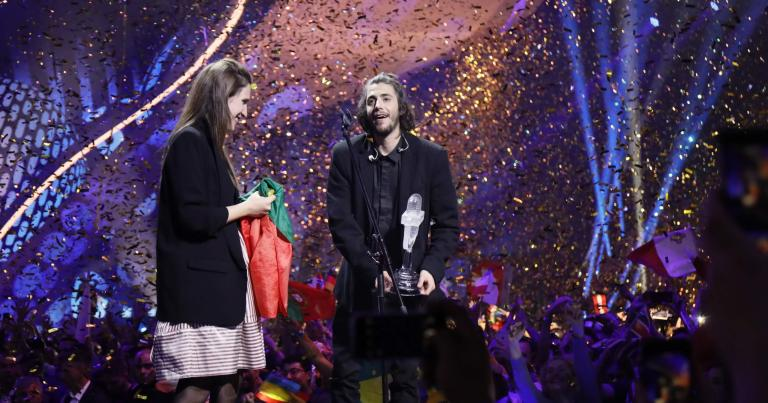Salvador Sobral vincitore dell'Eurovision Song Contest 2017