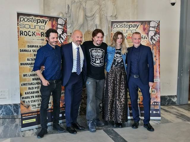 Postepay Sound Rock in Roma - Press Conference ph Pixel Music
