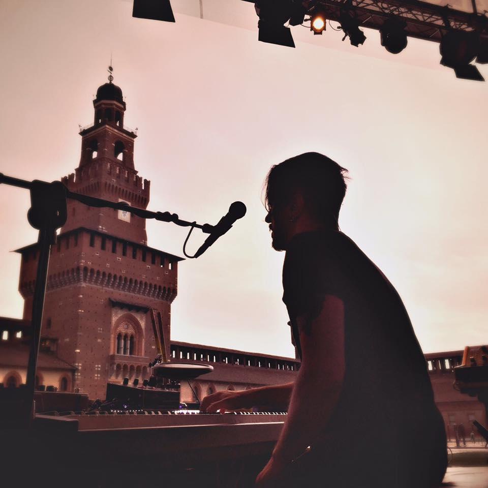 Dardust @ Castello Sforzesco ph Alessio Panichi