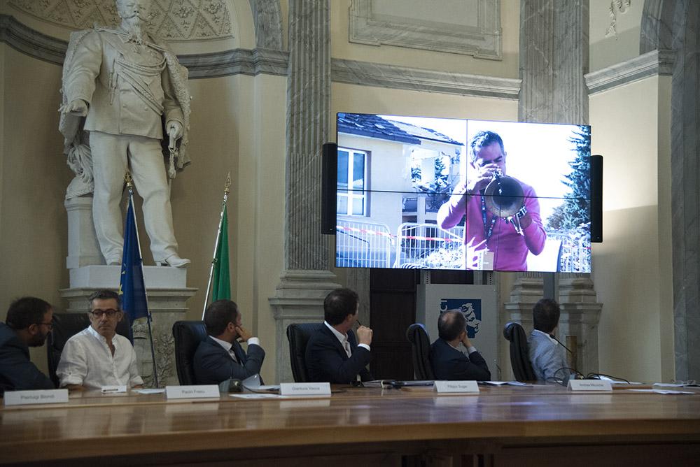 Il Jazz Italiano per le terre del Sisma 2018 - conferenza stampa - JR