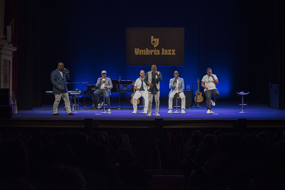 Take 6 - Umbria Jazz 2018 - ph JR