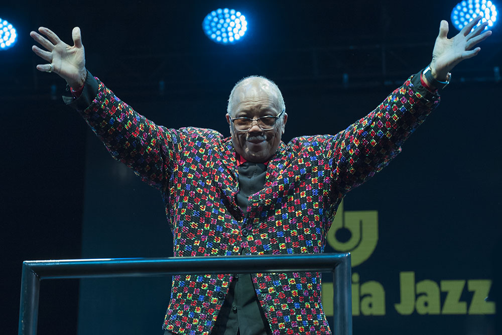 Umbria Jazz Festival: una notte per e con Quincy Jones ph JR