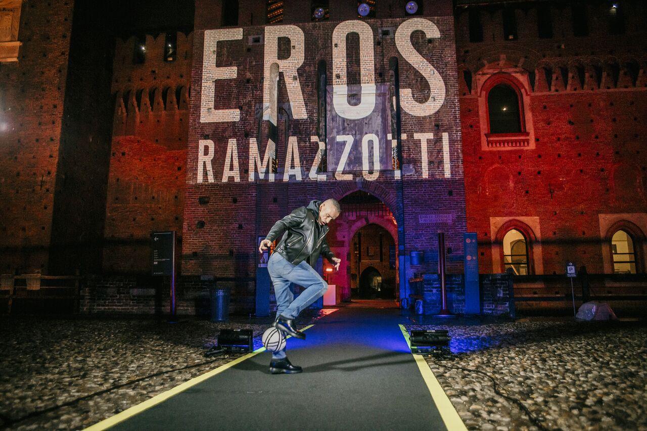 Eros Ramazzotti @ Castello Sforzesco - Milano