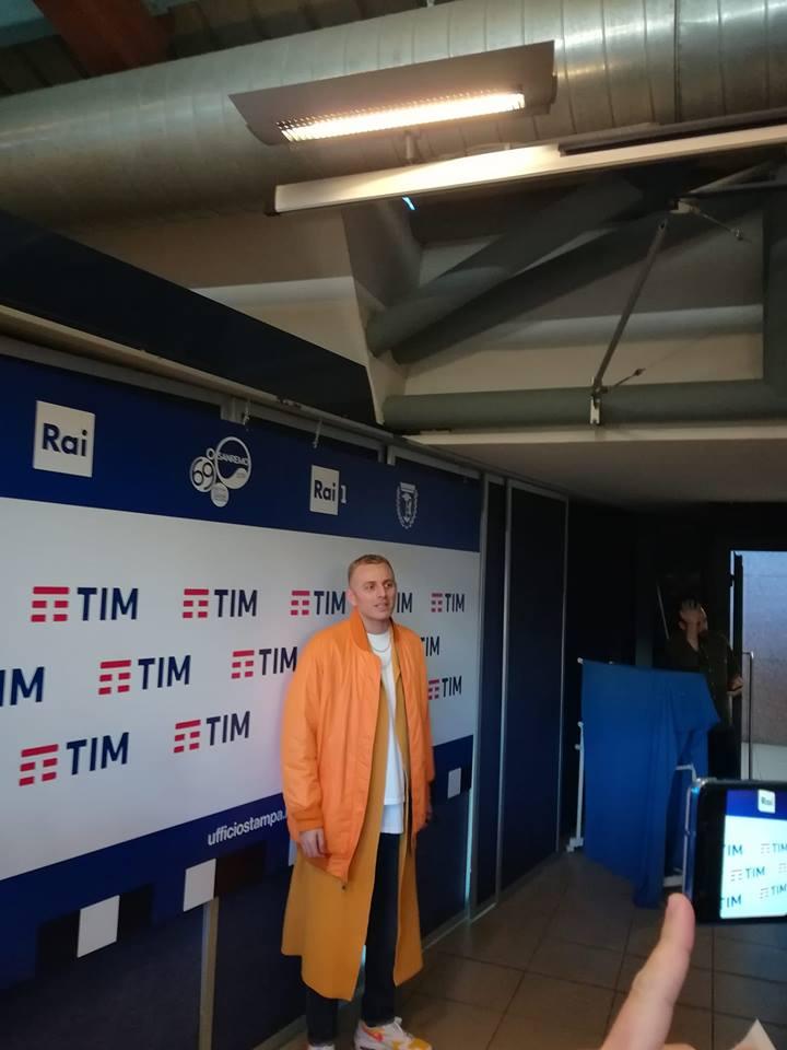 Ghemon @ Sala stampa Lucio Dalla -Sanremo
